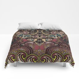 Flaming Hearts Comforters