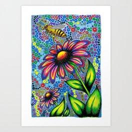 """""""In The Garden"""" Art Print"""