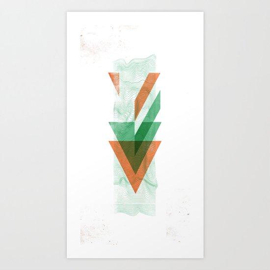 3Lives - Air Art Print