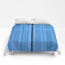 The Blue Window, Milos Comforters