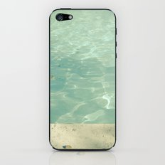 Morning Swim iPhone & iPod Skin