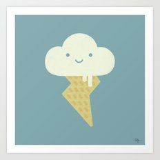 Stormy and Sweet Art Print