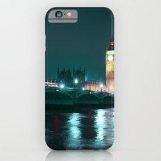Big Ben and Houses of Parliament, Aquamarine Slim Case iPhone 6s