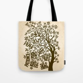 Fruit of the Spirit (Monotone) Tote Bag
