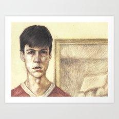 Cameron from Ferris Bueller's Day Off Art Print