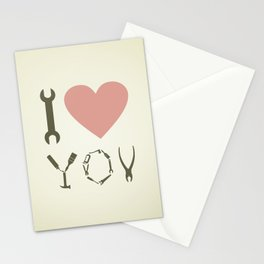 Love tool Stationery Cards