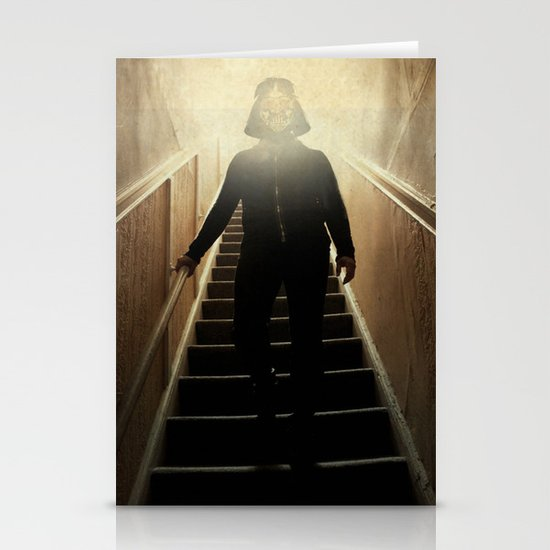 Stairway to the dark side _ vader descending  Stationery Cards