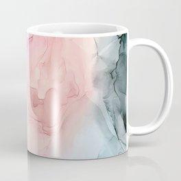Dark and Pastel Ethereal- Original Fluid Art Painting Coffee Mug