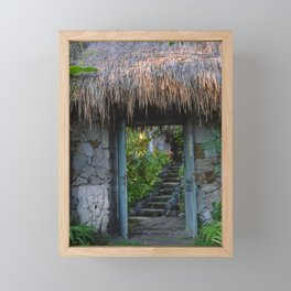 ubud spirit Framed Mini Art Print