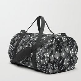 Black dice Duffle Bag