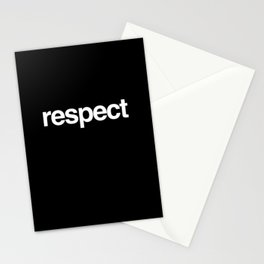 Respect Stationery Cards