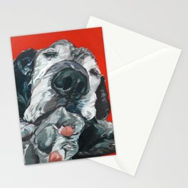 Leonard the Senior Dog Stationery Cards