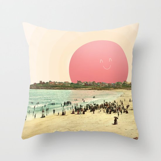 Proud Summer Sun Throw Pillow