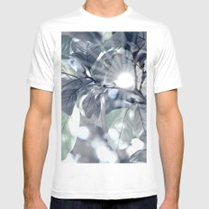 Leaves in my fantasy Mens Fitted Tee White MEDIUM