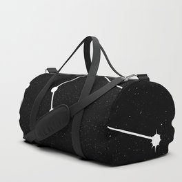 AQUARIUS (BLACK & WHITE) Duffle Bag