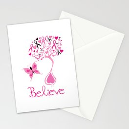 Breast Cancer Survivor Stationery Cards