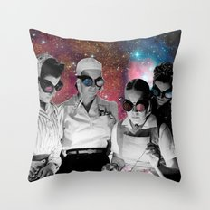 Space cooks Throw Pillow