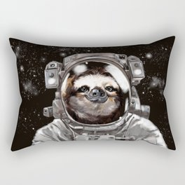 Astronaut Sloth Selfie Rectangular Pillow