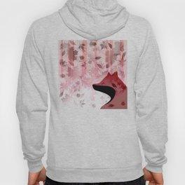 Fox In Falling Leaves Unique Design Hoody