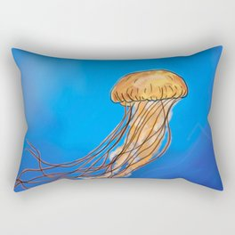 The Miraculous creature called a Jellyfish Rectangular Pillow
