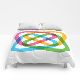 Colorful Swirl Comforters
