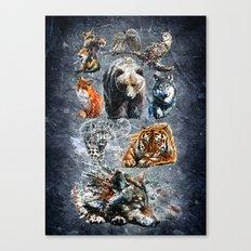 Predators Canvas Print
