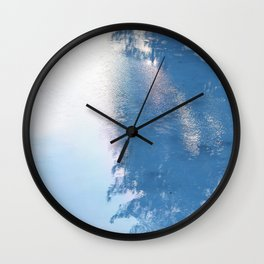 Ice, ice baby Wall Clock