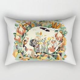 Skull & Fynbos Rectangular Pillow
