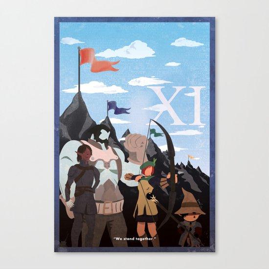 Vintage FF Poster XI Canvas Print