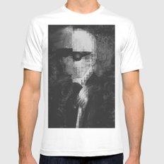 Karl Lagerfeld Star Futurism Limited White Mens Fitted Tee 2X-LARGE