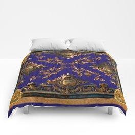 Versailles in cobalt blue Comforters