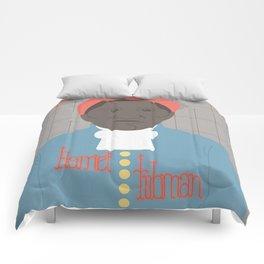 Harriet Tubman Portrait Comforters