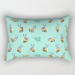 Friend Or Foe - Trish Pattern Rectangular Pillow