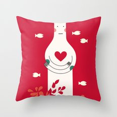 It is in my heart already Throw Pillow