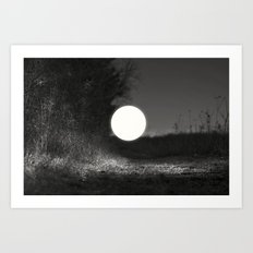 sleepwalking around the sun again Art Print