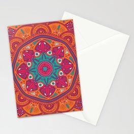 Colorful Mandala Pattern 017 Stationery Cards