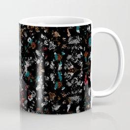jewel tone mix glass and stone chip mosaic motif tile pattern boho mandala Coffee Mug