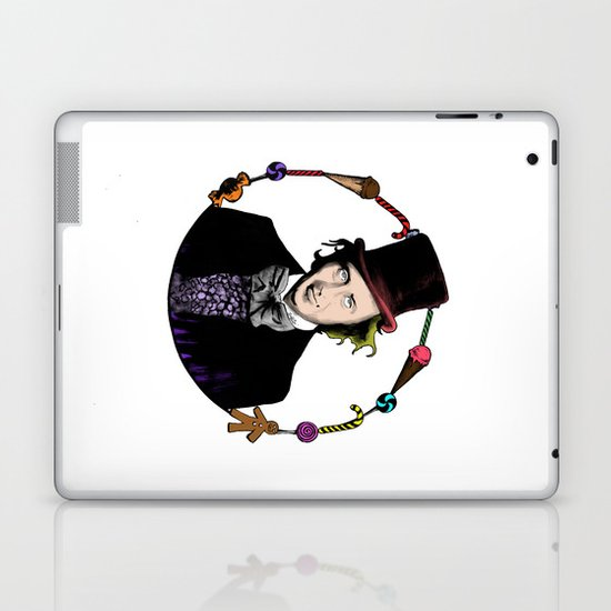 Merry Christmas From The Chocolate Factory Laptop & iPad Skin