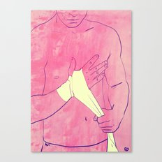 Boxing Club 1 Canvas Print