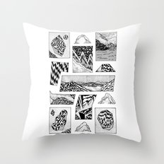 beyond time Throw Pillow