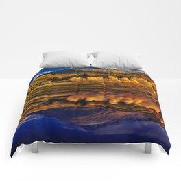 Autumn Mountain Landscape Comforters