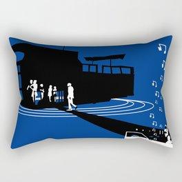 Houseboat Rectangular Pillow