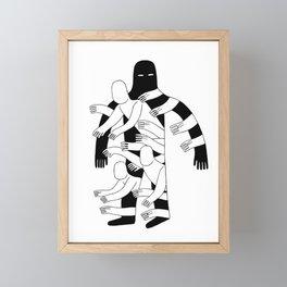 The Hole Framed Mini Art Print