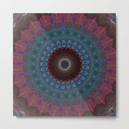 Some Other Mandala 189 Metal Print