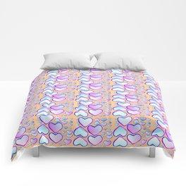 Coeur douceur Comforters