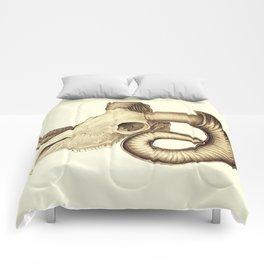 The goat skull Comforters