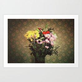 Flowers for her Art Print