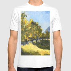 The Meadow Mens Fitted Tee MEDIUM White