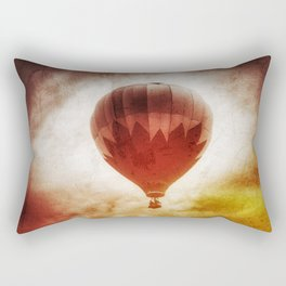 Nostalgic Fire Sky Rectangular Pillow