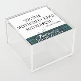 Motherf*cking Matriarch Acrylic Box